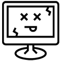 404 icon black