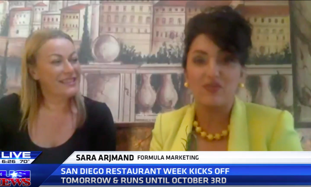 Our Client, Osteria Panevino Featured on KUSI NEWS!